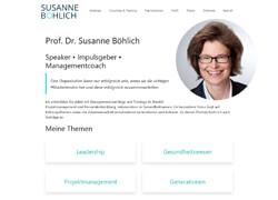 Websit von Prof. Dr. Susanne Böhlich
