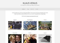 Website des Fotografen Klaus Venus
