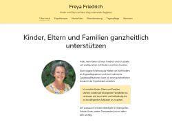 Website von Freya Friedrich